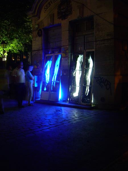 Installation pour la Fête des Lumières - Judith Marin