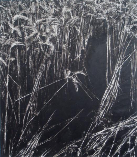 Gouffre - 2016 - peinture vinylique sur toile - 152 x 132 cm
